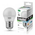 Camelion LED5-G45/845/E27 лампа светодиодная