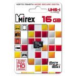 Mirex MicroSDHC 16Gb Class10 UHS-I карта памяти