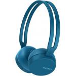 Sony WH-CH400L Bluetooth стереогарнитура, цвет синий