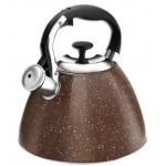 Lara LR00-73 терракот чайник со свистком 3 л