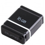 Qumo USB2.0 16GB Nano Black  флешка