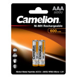 Camelion R03 600mAh bl2 аккумуляторы