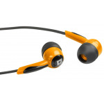 Defender Basic 604 black/orange, наушники