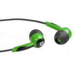 Defender Basic 604 black/green, наушники