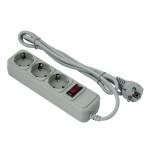 Exegate SP-3-1.8G сетевой фильтр, серый