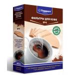 Topper 3014 фильтр для кофеварок №4 (100штук) н/о