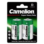 Camelion R20P-BP2G батарейки 2 штуки