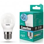 Camelion LED10-G45/845/E27 лампа светодиодная