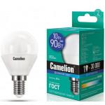 Camelion LED10-G45/865/E14 лампа светодиодная