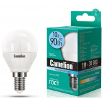 Camelion LED10-G45/845/E14 лампа светодиодная
