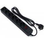 5bites SP6B-130 6S сетевой фильтр 3м, черный