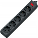 Defender ES 5.0 m сетевой фильтр  5 розеток, черный