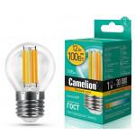 Camelion LED12-G45-FL/830/E27 лампа светодиодная