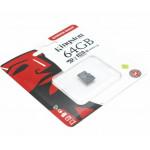 Kingstone microSDXC 64Gb Canvas Select C10 UHS-I карта памяти