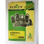 Ecolux EC 105 пылесборники (5 штук) Rowenta Ambia
