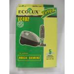 Ecolux EC 402 пылесборники (5 штук) Bosch
