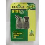 Ecolux EC 1203 пылесборники (5 штук) Electrolux